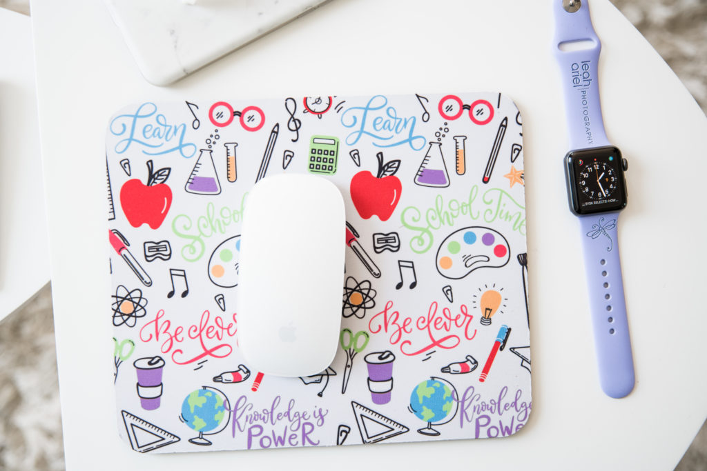 mouse pad product photography